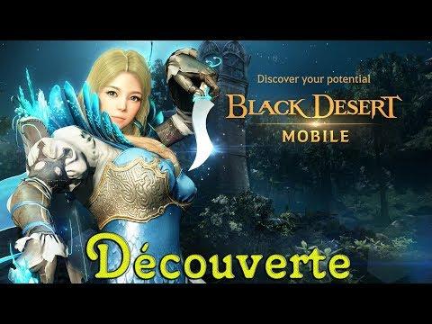 🔴 Black Desert Mibile Découverte Totale Du Jeu Avec La Classe Archer [FR]