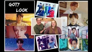 She GOT7!   Reacting To Look MV & Dance Practices!