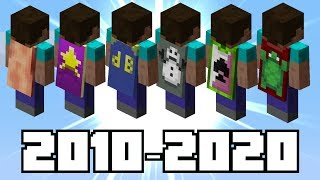 The History Of Minecrafts RAREST Capes