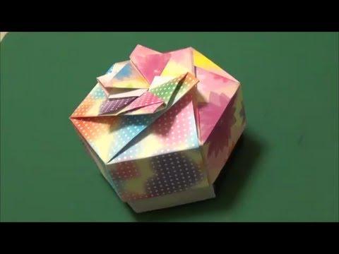 ハート 折り紙 折り紙箱六角形作り方 : matome.naver.jp