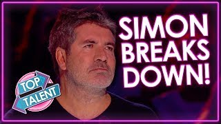 TOP 3 Auditions That Made Simon Cowell Cry on Got Talent | Top Talent