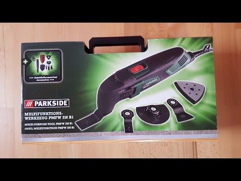 Parkside PMFW 310 B1 Multifunktionswerkzeug, Deltaschleifer, Delta Sander - [Unboxing! 4K]