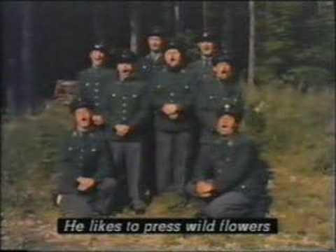 Lumberjack-Song in German