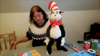Making Dr. Suess Halloween Decorations