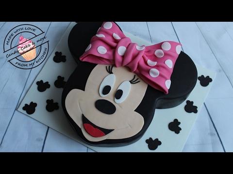 Minnie Mouse Torte I Motivtorte I Minnie Mouse Cake I Tutorial I Micky Mouse I Walt Disney