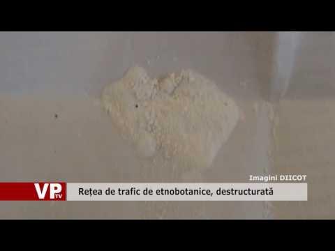 Rețea de trafic de etnobotanice, destructurată
