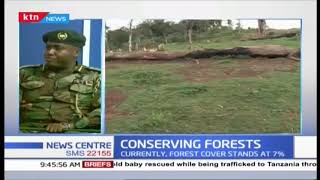 Conserving Forests: Kenya aims to increase forest cover to 10% from the 7%