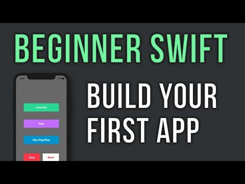 Swift – Build Your First App in 30 minutes – For Beginners – Music Player