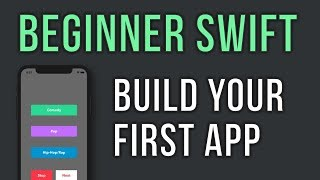 Swift - Build Your First App in 30 minutes - For Beginners - Music Player