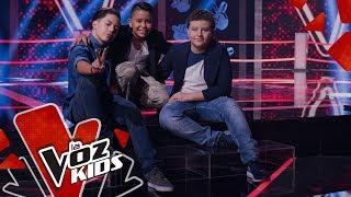 Ricardo, Joseph y Pipe cantan El sol no regresa – Batallas   La Voz Kids Colombia 2019
