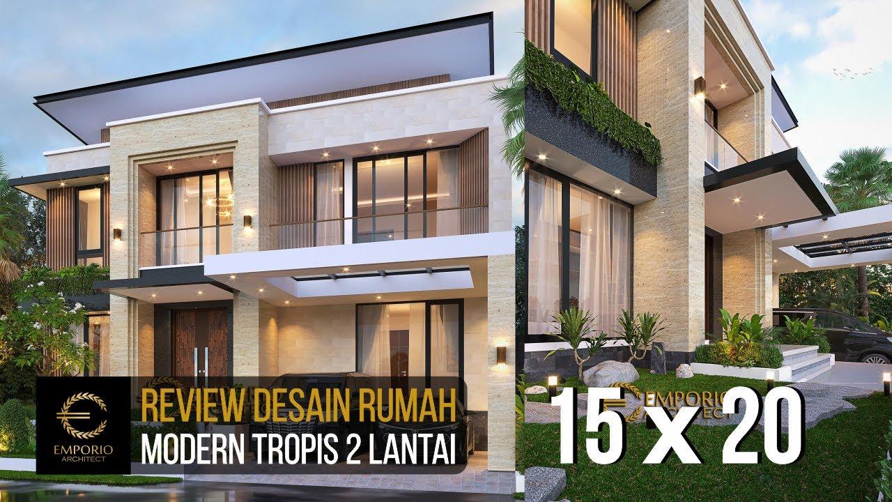 Video 3D Desain Rumah Modern 2 Lantai Bapak Yan Yeremia