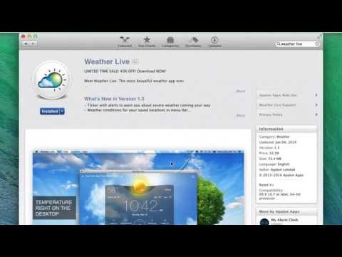 Weather Live for Mac App Review