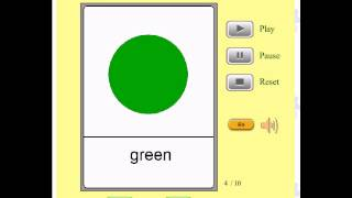 Audio Flashcards for Kids - Colors