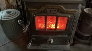 Morning Coal Stove - Garage - Anthracite Coal Stove