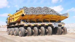 10 Extreme Dangerous MAXIMUM Dump Truck Operator Skill - Biggest Heavy Equipment Machines Working