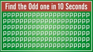 Can You Find Odd Emoji Out?