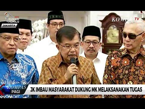 Jusuf Kalla Berharap MK Transparan dan Independen