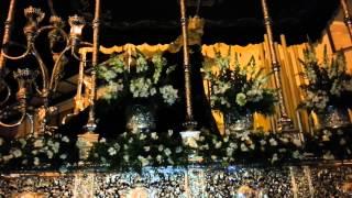 preview picture of video 'Semana Santa Villarrubia de los Ojos 2013. Llegada y entrada a la capilla. Virgen de la Esperanza.'