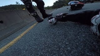 A Near Fatal Motorcycle Crash | Suzuki GSX-R750