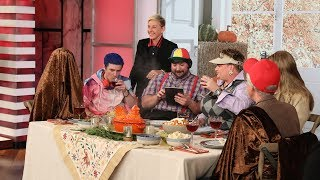 Ellen's Thanksgiving Table Seating Strategy Is Failproof