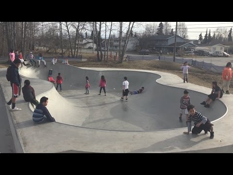 Skatepark In Anchorage Alaska | Vlog 2
