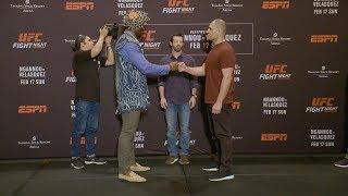 UFC Финикс: Стердауны