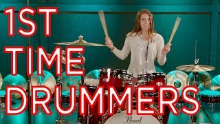 FIRST TIME DRUMMERS (and some really good drummers)