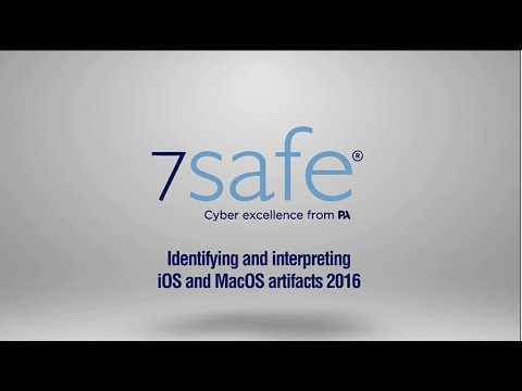 DIGITAL FORENSICS with 7Safe: Identifying and Interpreting iOS ...