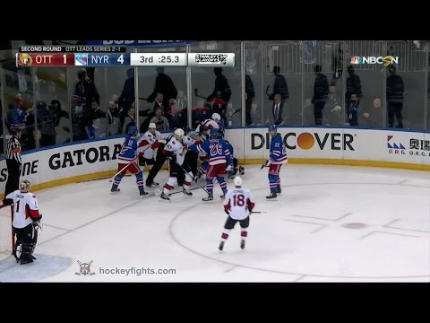 Tanner Glass vs. Kyle Turris