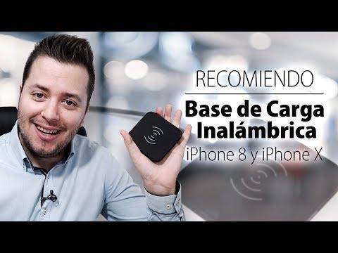 Os recomiendo esta base de carga inalámbrica para iPhone 8 y iPhone X