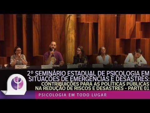 2º Seminário Estadual de Psicologia em Situações de Emergências e Desastres