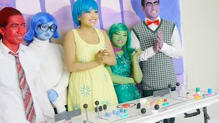 'INSIDE OUT' Behind the scenes