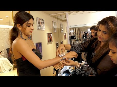 Nidhhi Agerwal Shopping with NIGHTINGALE Festive Collection