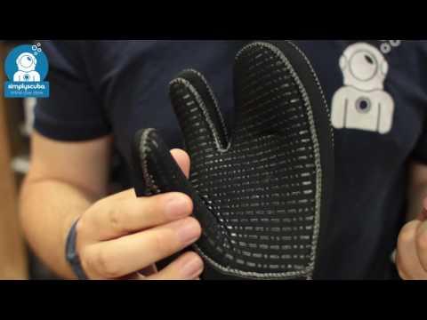 Waterproof G1 Mitten 7mm – www.simplyscuba.com