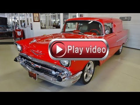 Video of Classic '57 Sedan Delivery located in Ohio - $69,995.00 Offered by Cruisin Classics - FQ0S