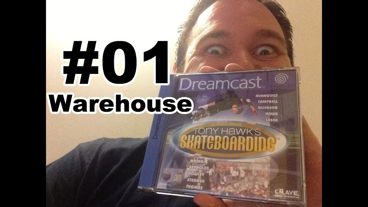 #01 Tony Hawk's Pro Skater – Warehouse (Speedy Renton Let's Play)