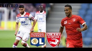 Lyon Nimes 2 0 Highlights/resumen/ HD