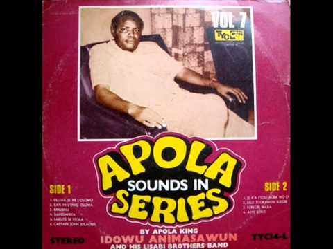 Idowu Animasawun & His Lisabi Brothers Band - Oluwa Semi Lolowo (Audio)