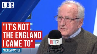 """It's not the England I came to"": Auschwitz survivor tells LBC"