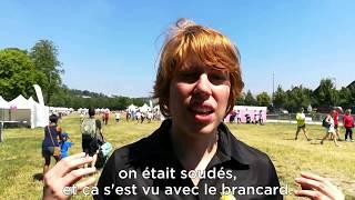 """La """"course des héros"""", en vidéo"""