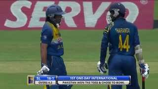 1st ODI: Sri Lanka v Pakistan - Highlights