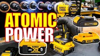 MORE POWER - Big Batteries - DeWalt 20V Atomic Impact Driver Review [DCF809]
