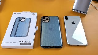 iPhone 11 Pro Max / XS Max: Nimbus9 Phantom 2 Rubbery Case (Military Drop Tested Standard)