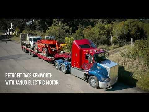 Австралийцы создали электрический привод для дорожного поезда