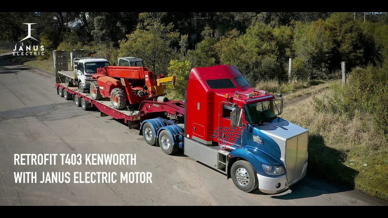 Australai sukūrė elektrinę pavarą autotraukiniui