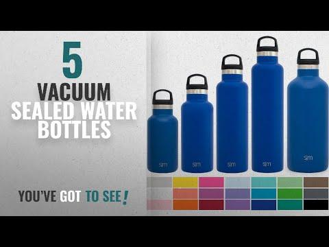 Best Vacuum Sealed Water Bottles [2018]: Simple Modern 24oz Ascent Water Bottle - Vacuum Sealed