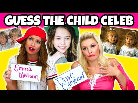 Guess Child Celeb. Is it Emma Watson or Dove Cameron (Can You Beat Our Score?)