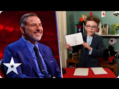 FEELING SUPER! Magician Aidan McCann mixes magic with superpowers | Semi-Finals | BGT 2020
