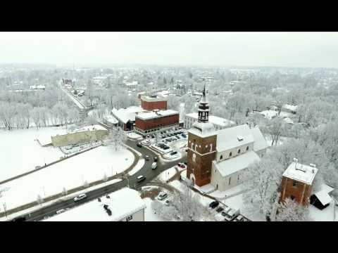 Валмиера зимой