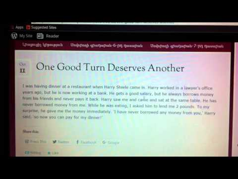 one good turn deserves another One good turn deserves another discuss how true this statement is according to  caucasian chalk circle give answers in point form asked by.